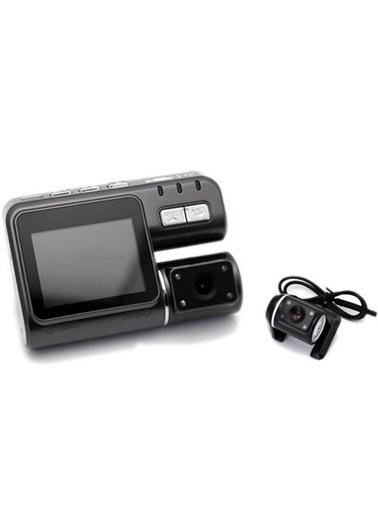 Goplay Gp101 Hd-Dvr 2.5 Hareket Sensörlü Çift Lensli Araç İçi Kamera Türkçe Menü ( 2 Kameralı )-Player